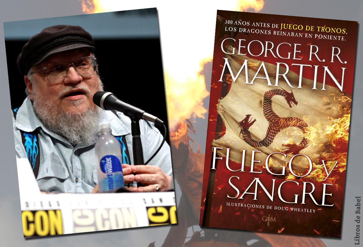George R. R. Martin publica 'Fuego y sangre', la historia de la casa Targaryen