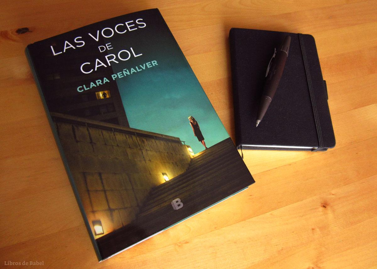Reseña y sorteo: 'Las voces de Carol', de Clara Peñalver