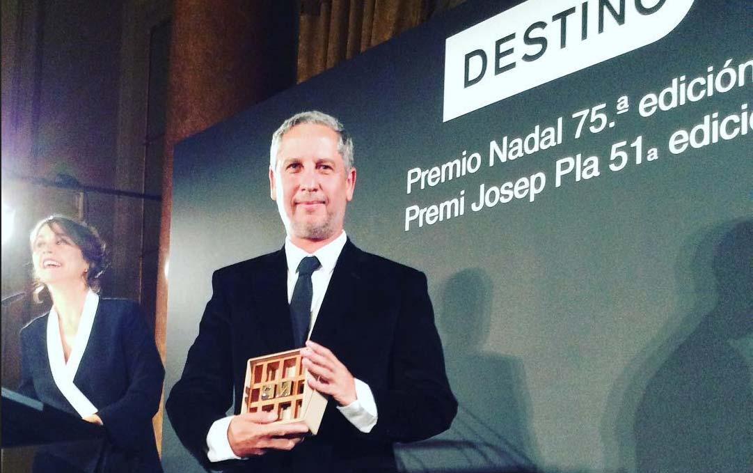 Guillermo Martínez, Premio Nadal 2019 por 'Los crímenes de Alicia'