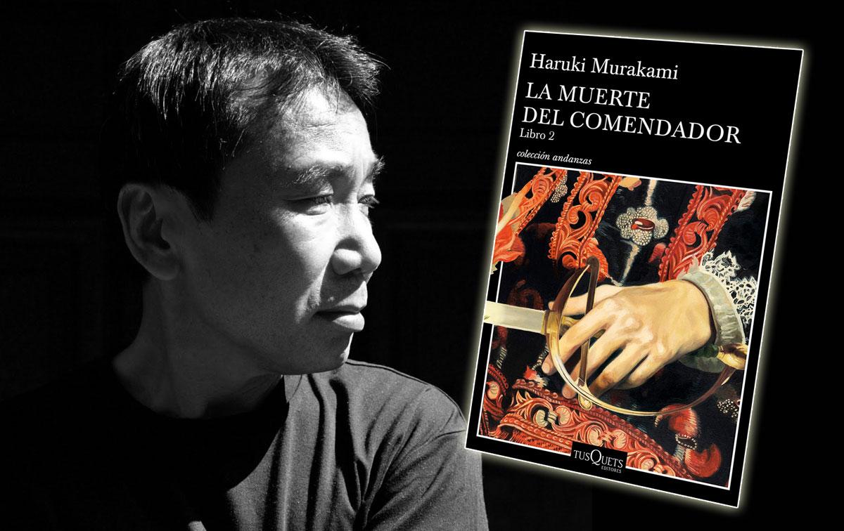 Murakami y el proceso creativo se citan en la segunda entrega de 'La muerte del comendador'